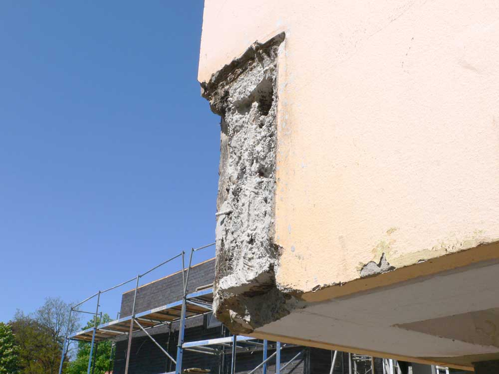 Bauschaden am Haus durch Wärmebrücke