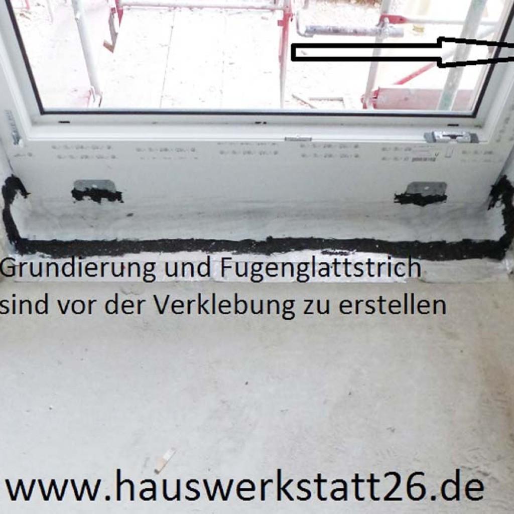 Abdichtung-Bausachverstaendiger-Baubegleitung-Fenster-Hude-Fenstereinbau-Neubau-Fugenglattstrich-Sandkrug