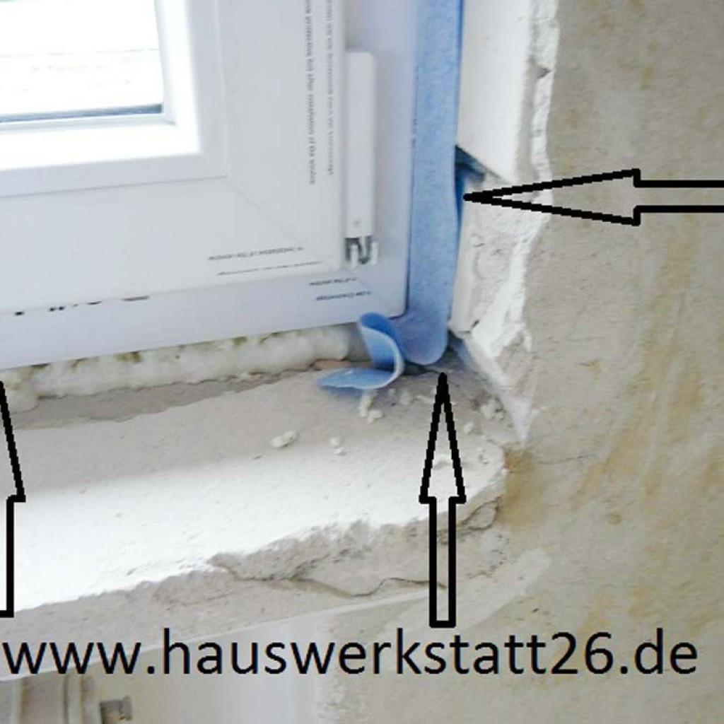 Bauaufsichtsfehler-Baumangel-Gutachten-Fenstereinbau-Altbau-Luftdichter-Anschluss-Wildeshausen-Hude