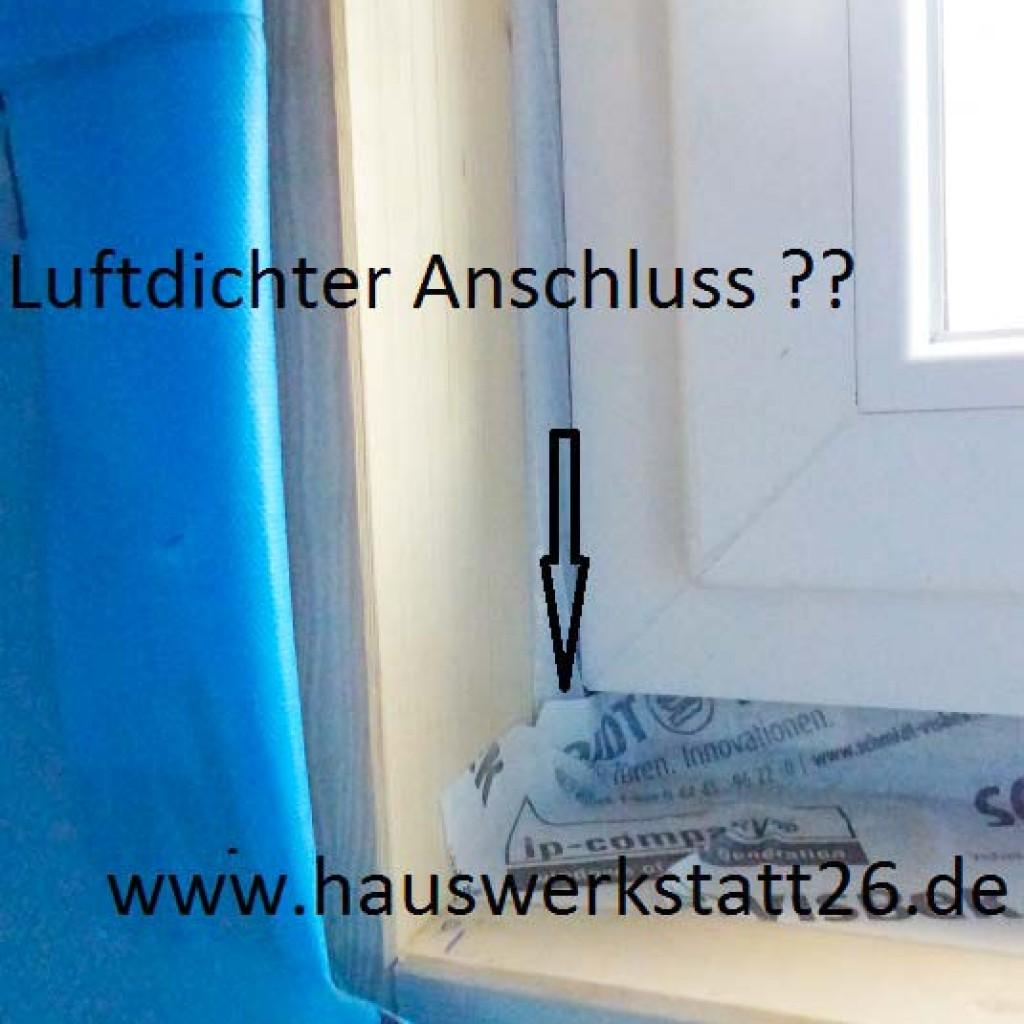 Holzrahmenbau-Fenster-Luftdicht-Anschluss-Schimmel-Bausachverstaendiger-Wildeshausen-Huntlosen-Bremen
