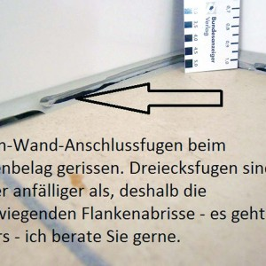 Silikonfugen-Zweiflankenhaftung-Baumangel-Baubetreuer-Oldenburg-Wilhelmshaven-Hude