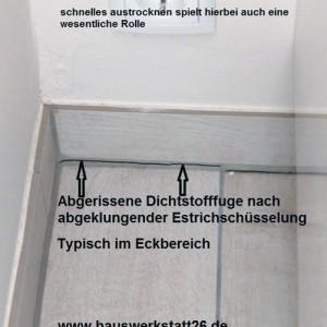 2-Abgerissene-Dichtstofffuge-nach-abgeklungener-Estrichschuesselung