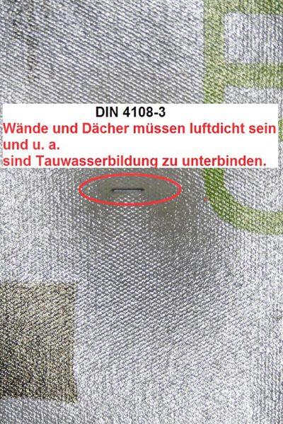 8-Takkerklammern-Luftdicht-Tauwasser-Kondensat-Abklebung