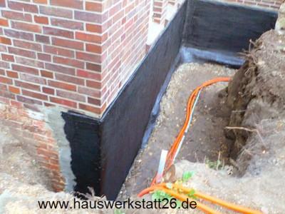 Sanierung von Feuchteschäden oder Bauwerksabdichtung