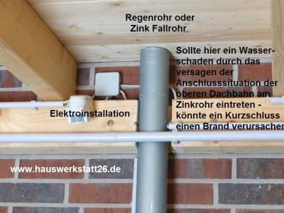 Holzschutz am Geräteschuppen nach DIN 68800